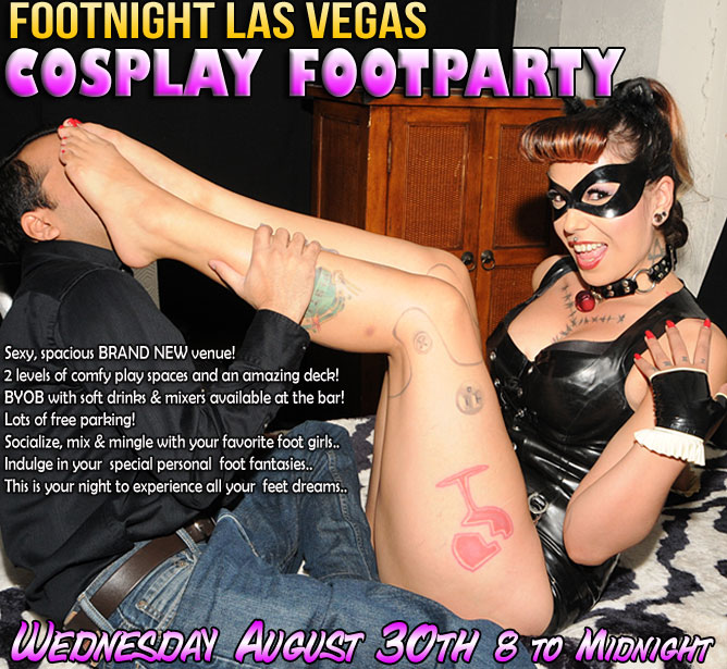 Footnight International Foot Worship and Foot Fetish Parties