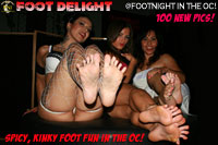Footnight in the OC 100 pics