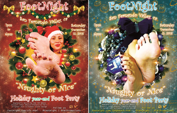Footnight San Fernando Valley Holiday Party