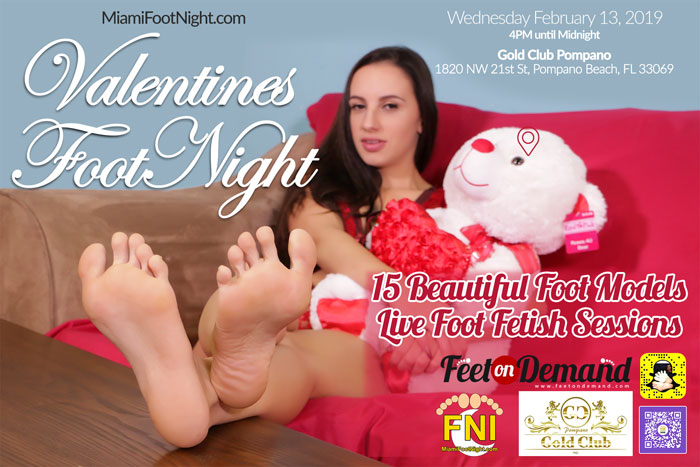 Footnight South Florida VIP Foot Party