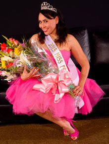 Miss Footnight 2015 Renee Adams