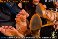 Brand new Footnight Girls Feet Up Close In Your Face!