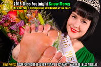 2016 Miss Footnight Snow Mercy