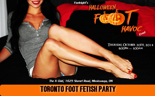 Footnight Toronto Foot party