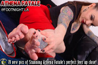 Athena Fatale at Footnight Los Angeles