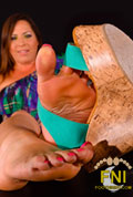 Ms Eden Winters strong, dominant feet in your face