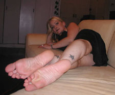 Jacqueline DuMonde's beautiful soles