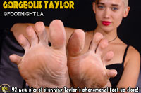 Taylor at Footnight Los Angeles
