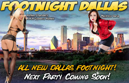 Footnight Dallas Hose and Toes Foot party