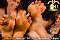 Footnight Los Angeles Feet in your face