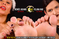 Renee Adams and Felina Rae at Footnight Long Beach