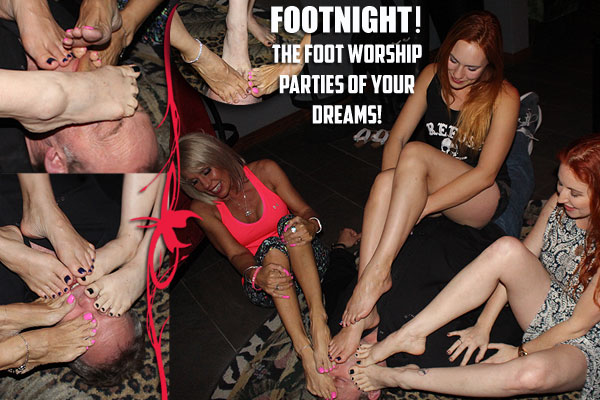Footnight Foot Worship Parties