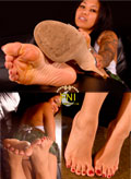 The gorgeous Latina Feet of Blair Winters up close, in your face