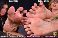 Footnight Los Angeles Ladies Choice Foot Party