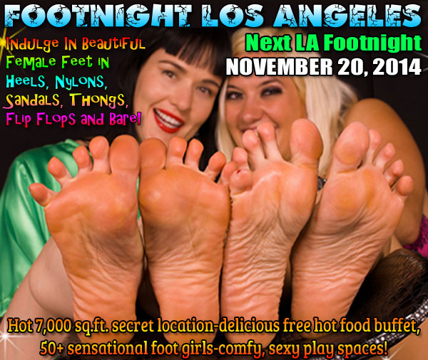 Footnight Sizzling Summer Soles 'n Toes Los Angeles
