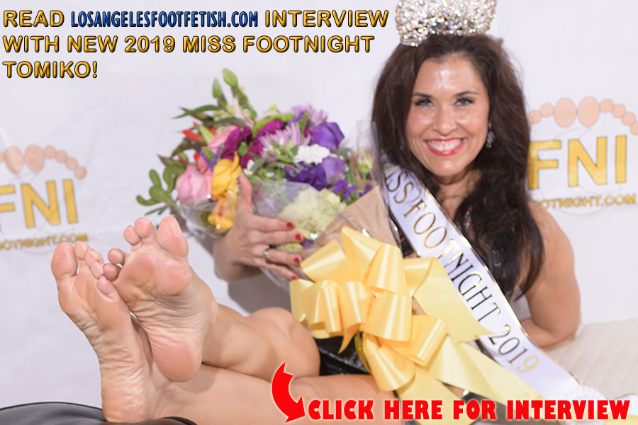 Interview with the new 2019 Miss Footnight - TOMIKO!