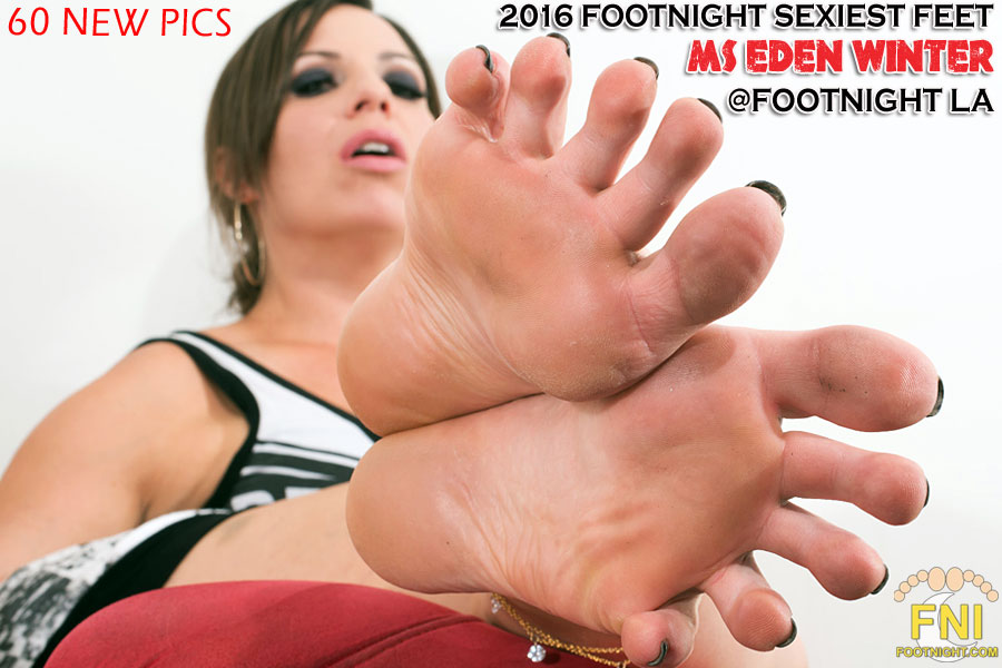 FNI Sexiest Feet Ms Eden Winter
