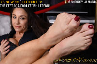 Legendary Jewell Marceau's Feet at Footnight LA