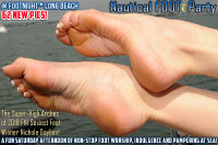 Footnight Long Beach nautical foot party
