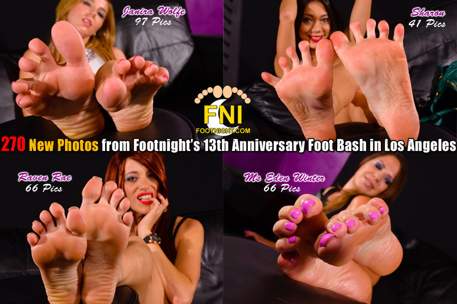 New Footnight Video - Footnight Girls soles, toes, arches