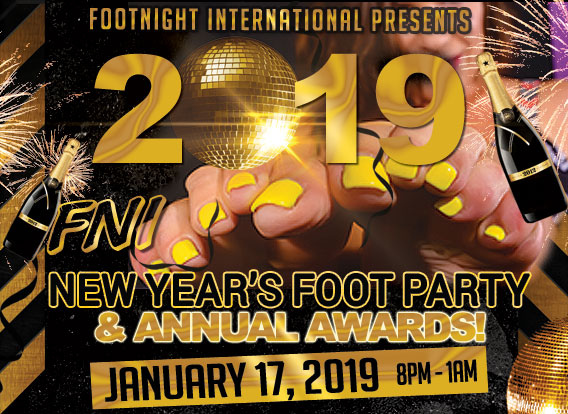 2019 Footnight New Year's Foot Party and Annual Awards
