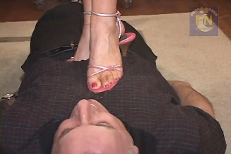 Vinyl Queen High Heel Trample